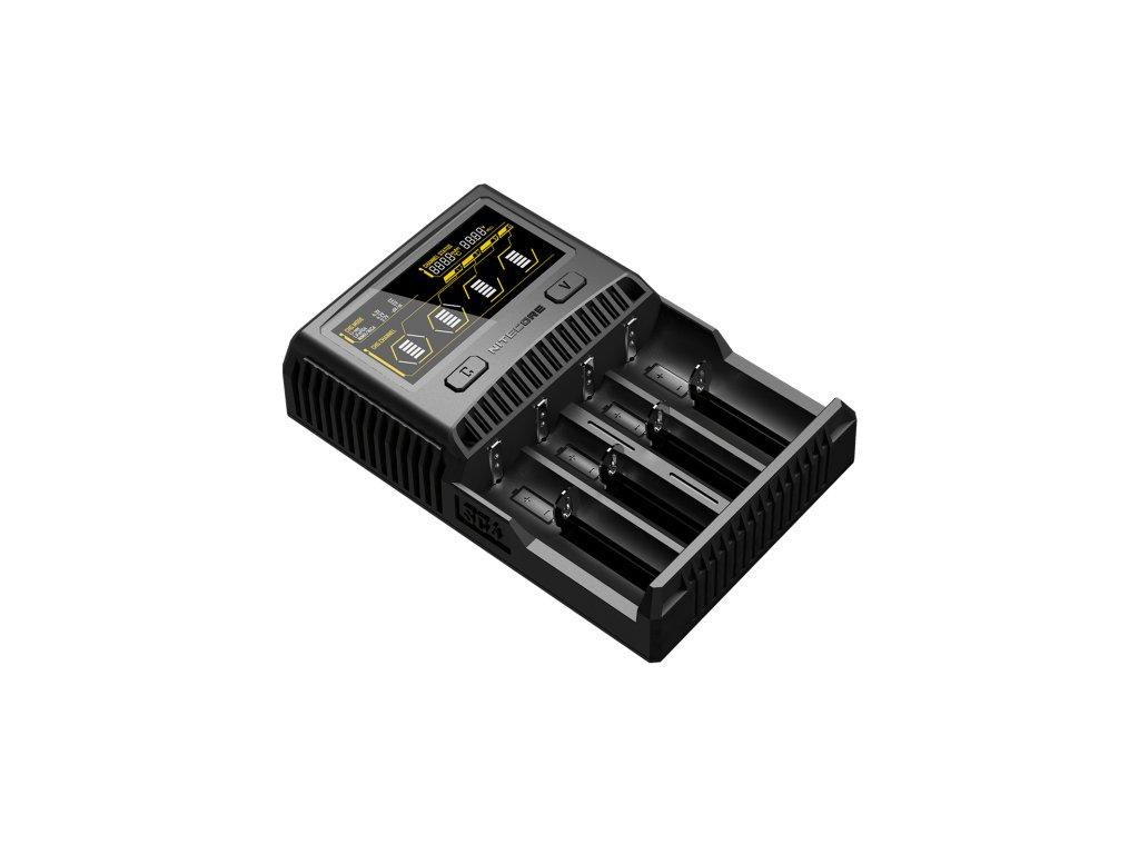 Nitecore -  NITECORE SC4 - Jedinečná inteligentná rýchlonabíjačka so 4-mi nabíjacími slotmi