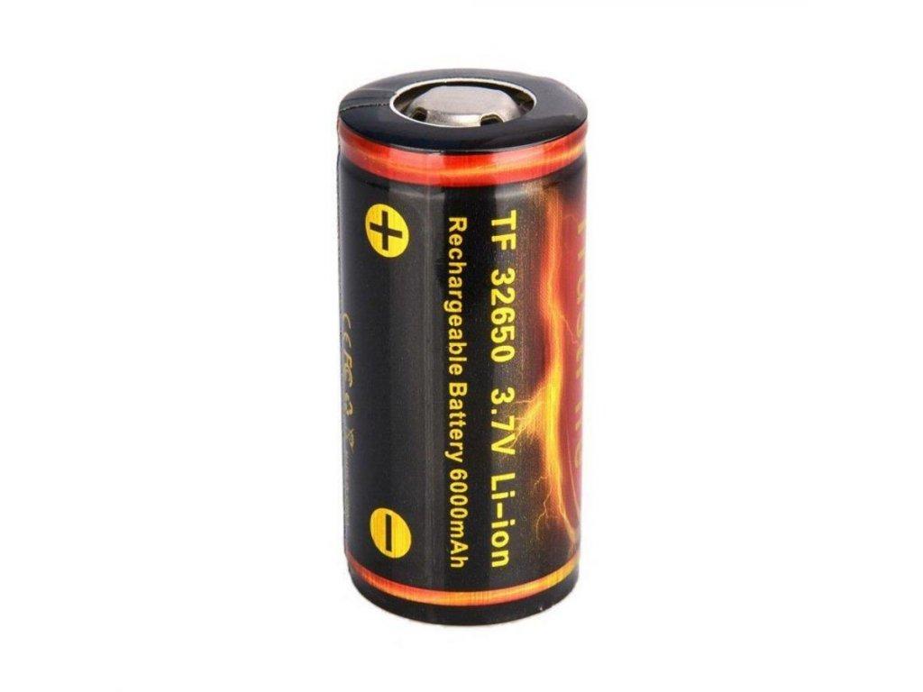 Trustfire -  Akumulátor TRUSTFIRE - 32650, 6000 mAh, Flat Top, s ochranou, 3.6 - 3.7V