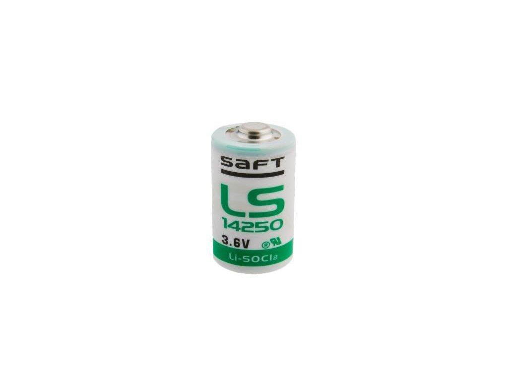 Saft -  Batéria SAFT LS 14250 - 1/2 AA, 1200mAh, 3.6V, Button Top - nenabíjateľná