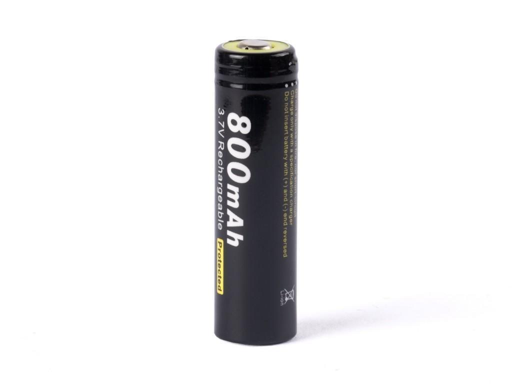 Soshine -  Akumulátor SOSHINE 14500/AA - 800 mAh, Button Top, 3.7V, s ochranou, 3A