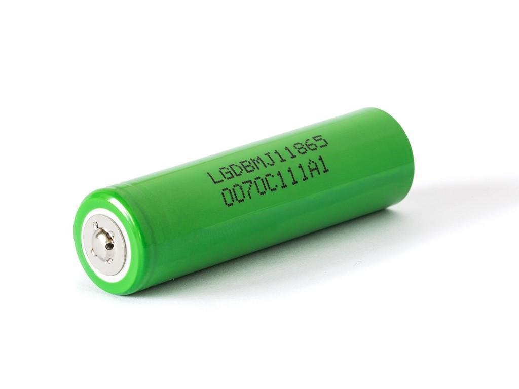 LG Chem -  Akumulátor LG CHEM INR18650MJ1 - 3500 mAh, Button Top, 3.7V, bez ochrany, 10A
