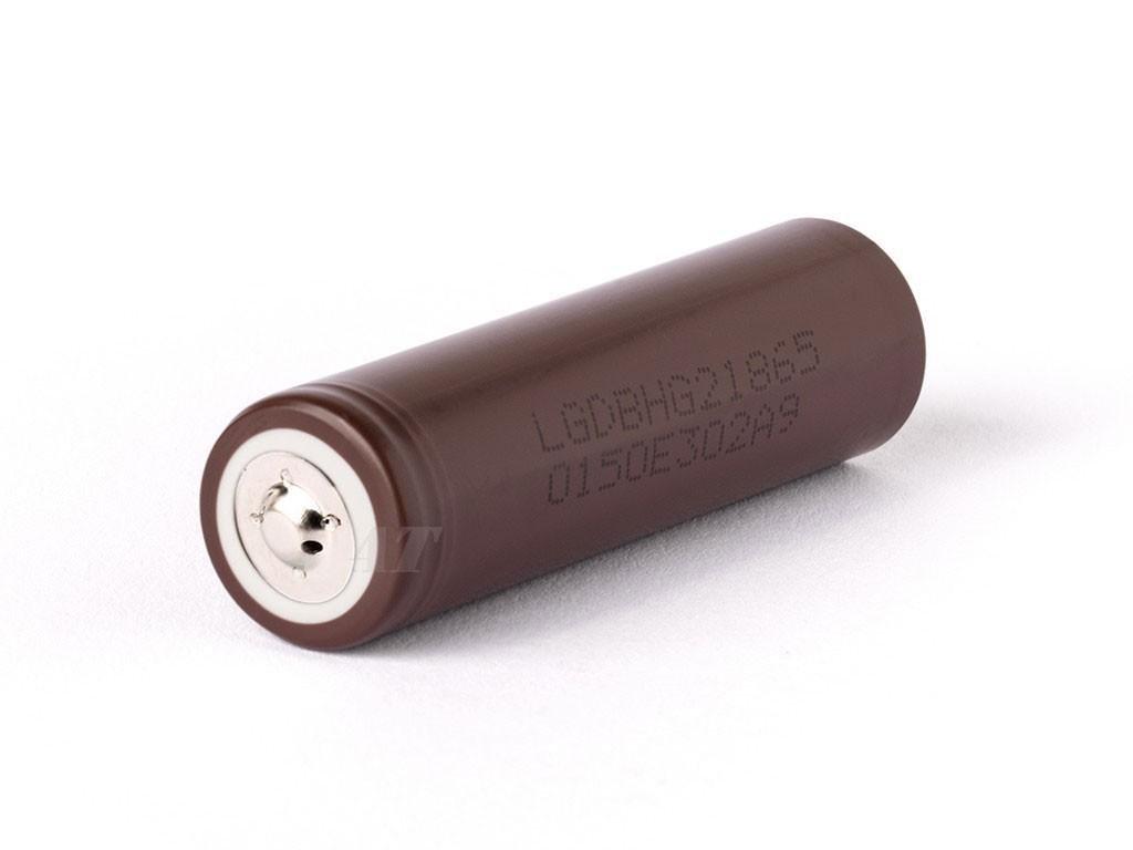 LG Chem -  Akumulátor LG CHEM INR18650HG2 - 3000 mAh, Button Top, 3.7V, bez ochrany, 20A