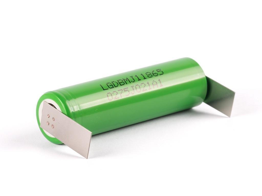 LG Chem -  Akumulátor LG CHEM INR18650MJ1 - 3500 mAh, Flat Top, 3.7V, bez ochrany, 10A, + Výstup U