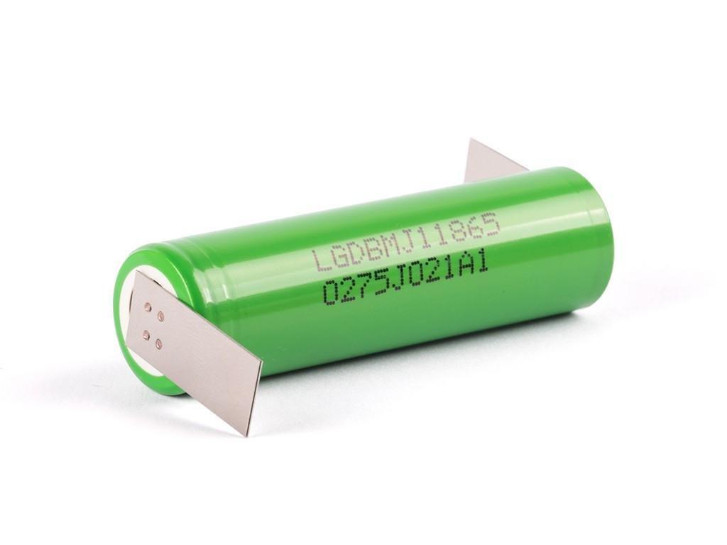 LG Chem -  Akumulátor LG CHEM INR18650MJ1 - 3500 mAh, Flat Top, 3.7V, bez ochrany, 10A, + Výstup Z