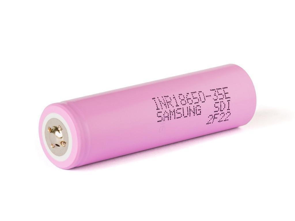 Samsung SDI -  Akumulátor SAMSUNG SDI INR18650-35E - 3500 mAh, Button Top, 3.7V, bez ochrany, 13A