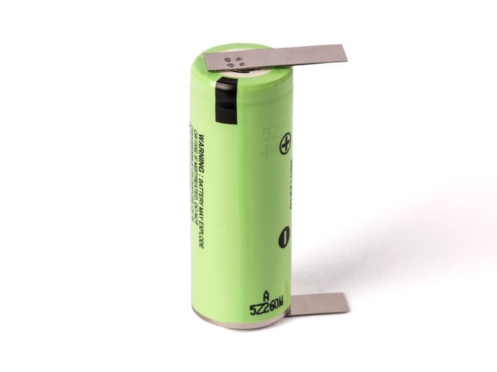 Panasonic -  Akumulátor PANASONIC NCR18500A - 2040 mAh, 3.7V, bez ochrany, 4A, + Výstup U