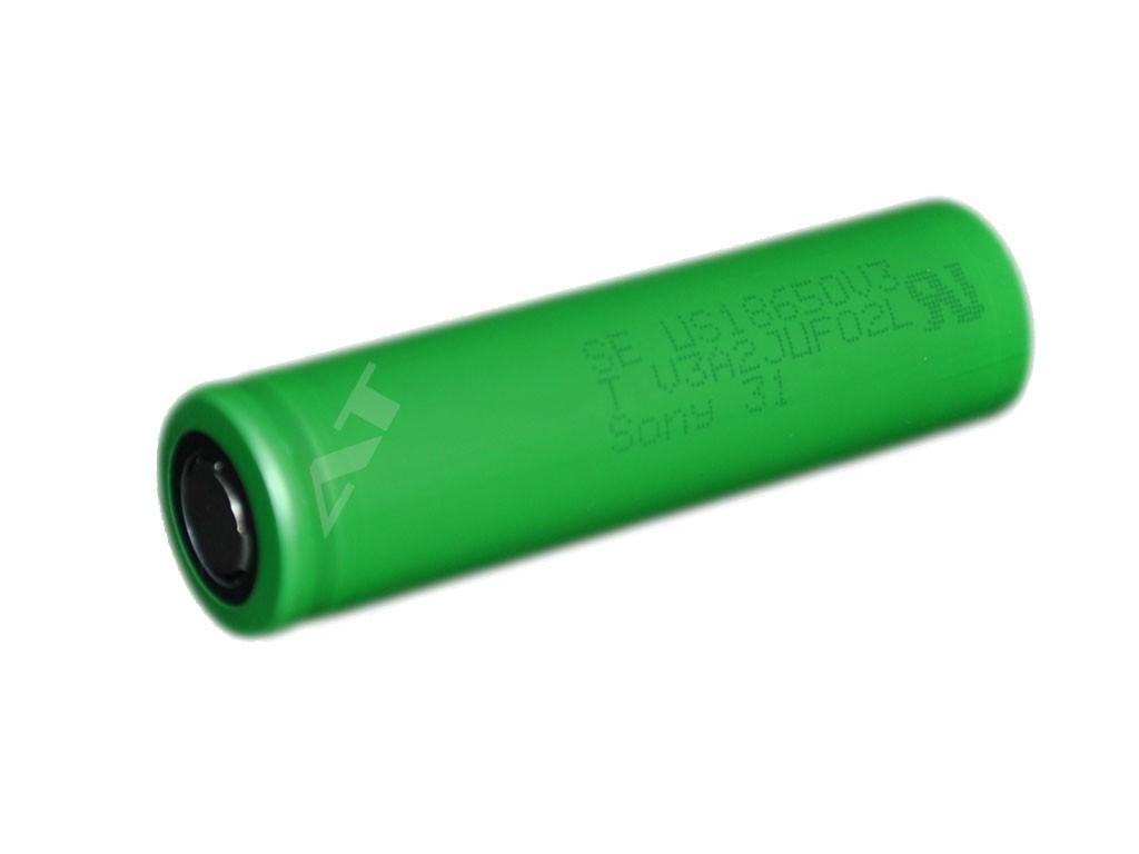 Sony -  Akumulátor SONY US18650V3 - 2250 mAh, Flat Top, 3.6V, bez ochrany, 10A