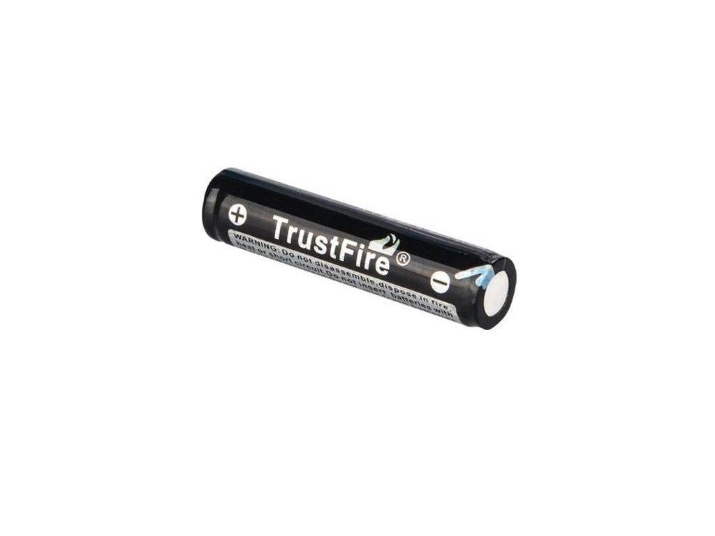 Trustfire -  Akumulátor TRUSTFIRE 10440 - 600 mAh, Button Top, 3.7V, s ochranou