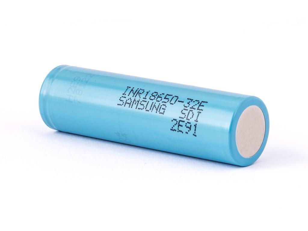 Samsung SDI -  Akumulátor SAMSUNG SDI INR18650-32E - 3200 mAh, Flat Top, 3.7V, bez ochrany, 9.6A