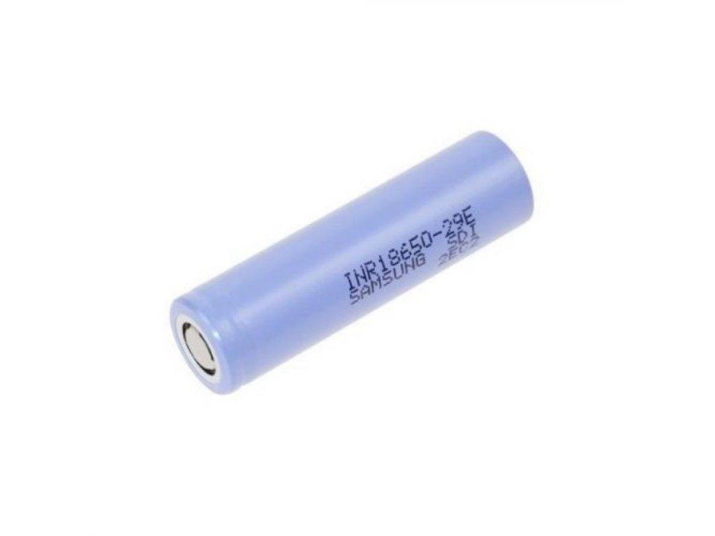 Samsung SDI -  Akumulátor SAMSUNG SDI INR18650-29E - 2900 mAh, Button Top, 3.7V, bez ochrany, 10A