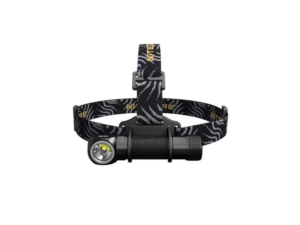 Nitecore -  Nabíjateľná LED Čelovka NITECORE HC33 + akumulátor NITECORE 18650 3500mAh