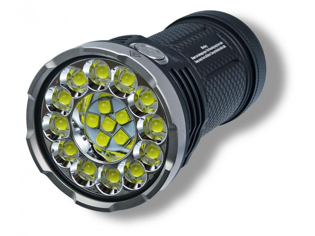 Acebeam -  Extrémne výkonná LED Baterka ACEBEAM X80 - výstup až 25000 lumenov