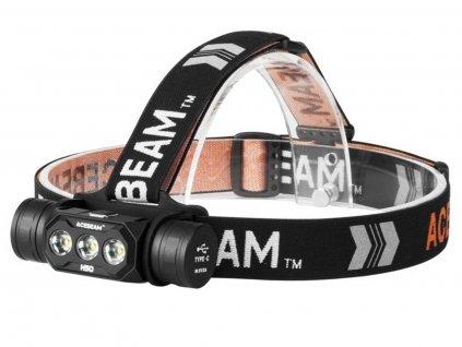 Acebeam -  LED Čelovka ACEBEAM H50 - 3x Samsung LH351D LED