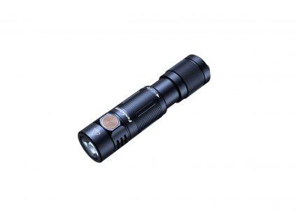 Nabíjateľná baterka Fenix E05R - čierna
