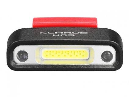 Klarus -  USB Nabíjateľná čelovka KLARUS HC3 s pohybovým senzorom, s výstupom LED 100LM