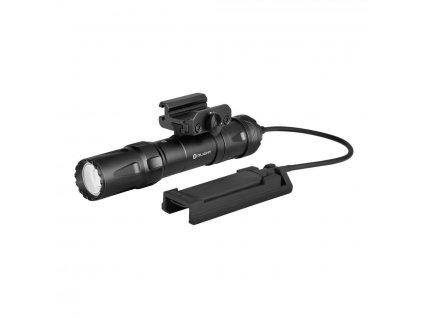Olight -  Profesionálna taktická LED baterka Olight Odin black, výstup 2000LM