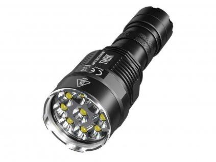 Nitecore -  Kvalitná LED Baterka NITECORE TM9K, s výstupom LED 9500LM + USB nabíjanie