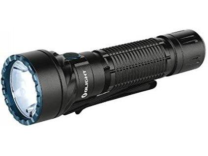 Olight -  Nabíjateľná LED baterka Olight Freyr s bielou, červenou, zelenou a modrou LED diód. 1750LM