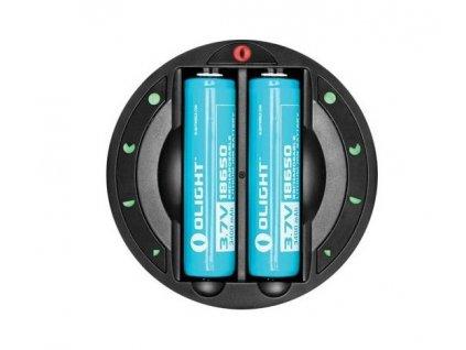 60163 2 olight univerzalna nabijacka baterii omni dok
