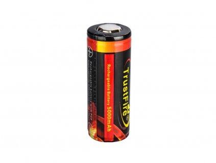 Trustfire -  Akumulátor TRUSTFIRE - 26650 (Li-ion) 5000 mAh, BUTTON, s ochranou