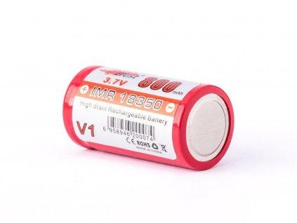 Efest -  Akumulátor EFEST - IMR18350 V1 (Li-Mn) 800 mAh, FLAT, bez ochrany