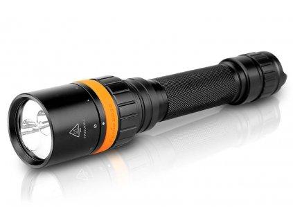Fenix -  LED Baterka pre potápačov - FENIX SD20 (biela a červená LED)