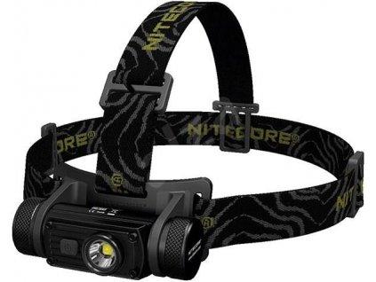 Nitecore -  Nabíjateľná LED Čelovka NITECORE HC60 s akumulátorom