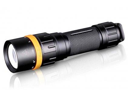 Fenix -  Potápačská LED Baterka FENIX SD11 (XM-L2 U2) + RED LED