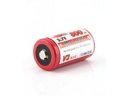 Efest -  Akumulátor EFEST - IMR18350 V2 (Li-Mn) 800 mAh, BUTTON, bez ochrany