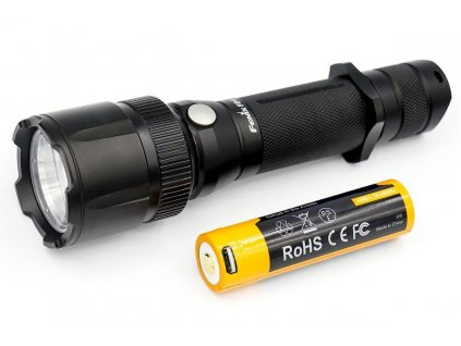 Fenix -  Jedinečná LED Baterka FENIX - FD41 (so ZOOM optikou) + USB aku. FENIX 2600mAh