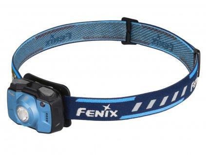 Fenix -  Kompaktná nabíjacia LED Čelovka FENIX HL32R, biela a červená LED - Modrá