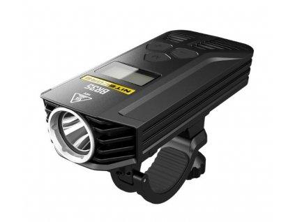 Nitecore -  Výkonné nabíjateľné LED cyklo svietidlo NITECORE BR35 - OLED displej, 2 reflektory