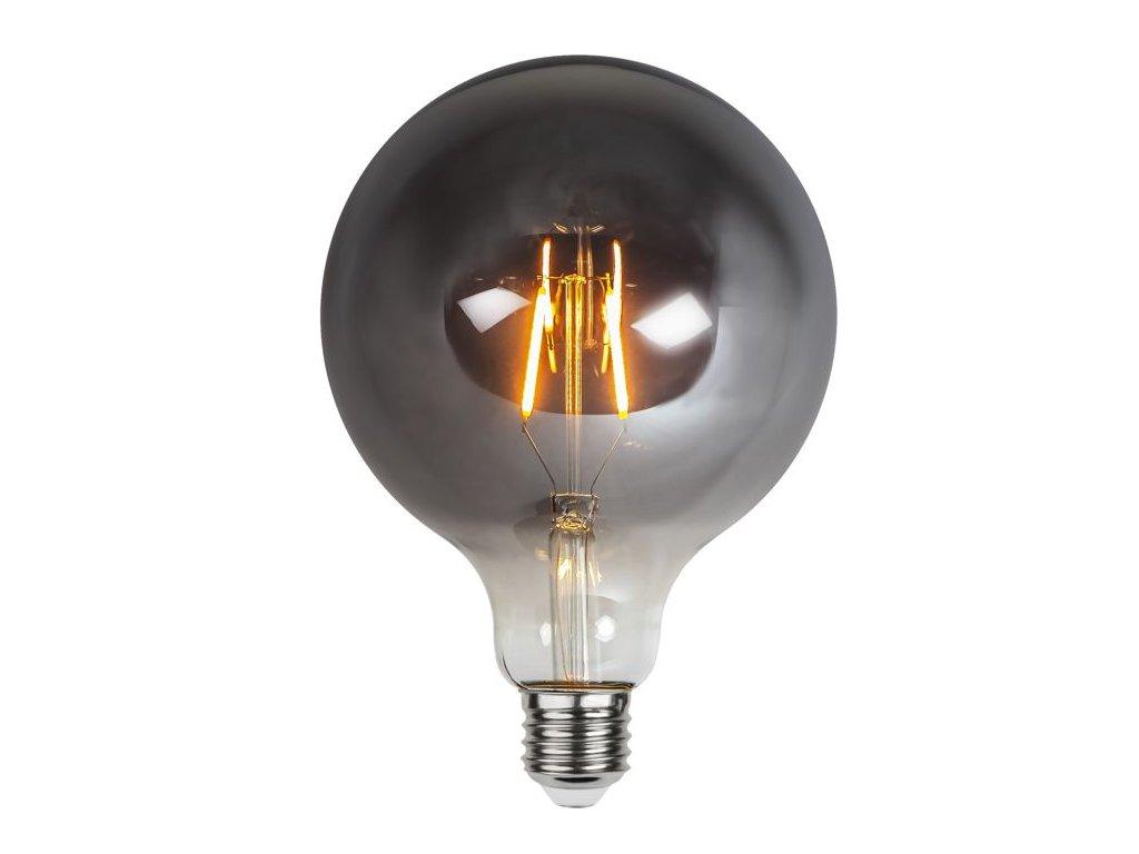 led ziarovka filament dymove sklo g125 e27