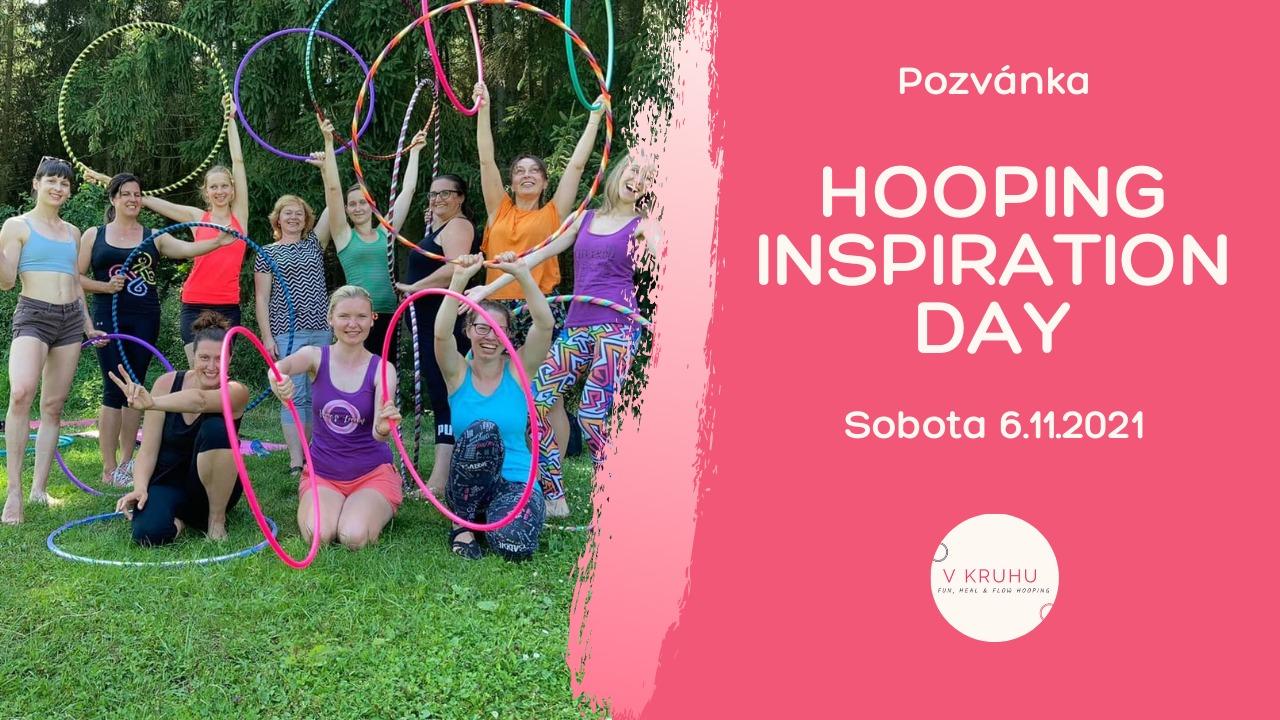 Pozvánka na podzimní HOOPING INSPIRATION DAY