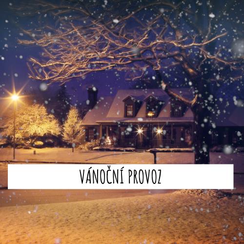 Vánoční provoz ve Světě hoopingu