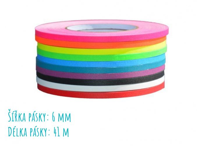 Protiskluzové pásky / Gaffer 6 mm/41 m