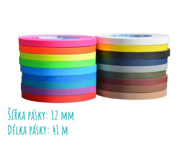 Protiskluzové pásky / Gaffer 12 mm /41 m