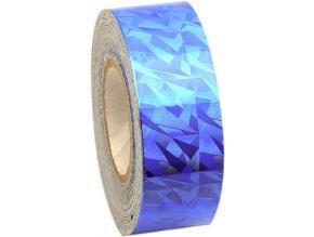 CRACKLE Metallic Blue Adhesive Tape. imagelarge