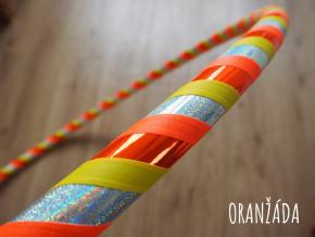 oranžáda fitness hula hoop