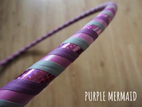 purple mermaid obruc hoop
