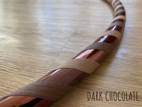taneční obruč dark chocolate