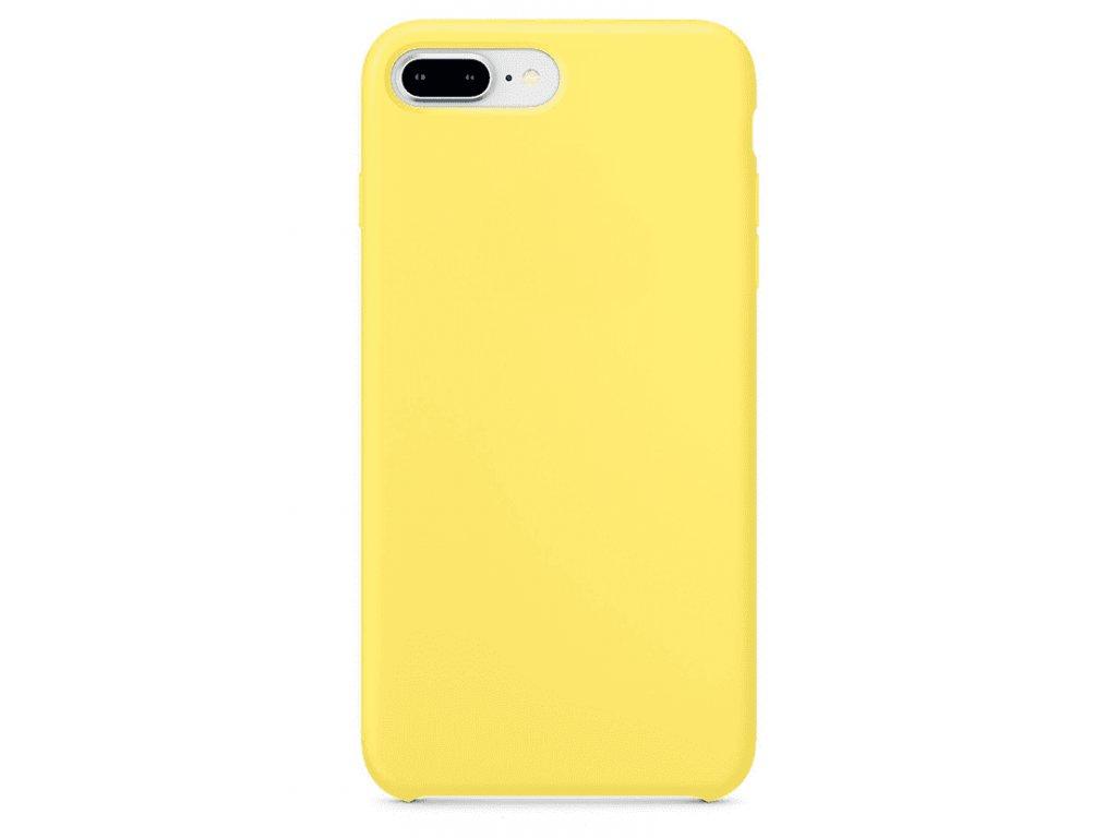 Silikonové pouzdro pro iPhone 7 8 Plus, žlutá