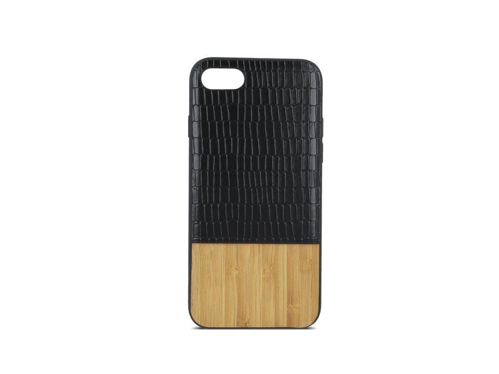 Dřevěný kryt Beeyo Wooden Wave – iPhone X Xs