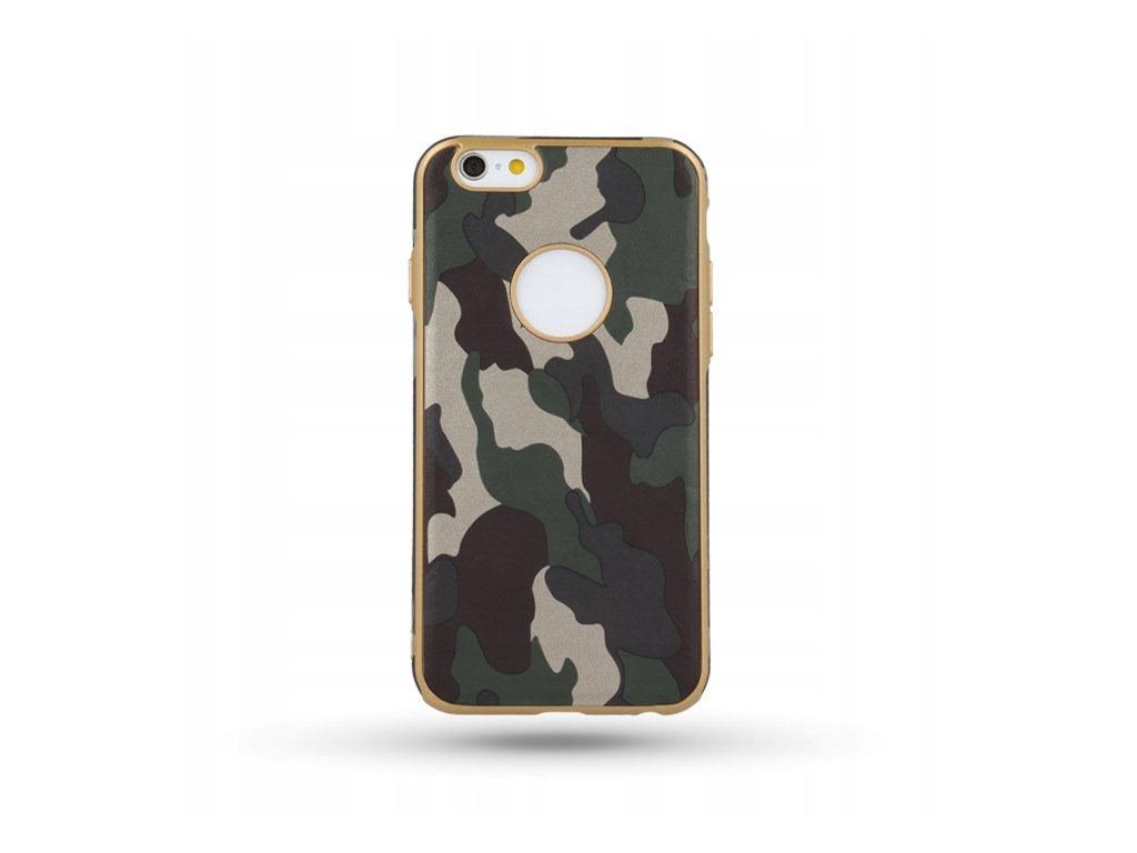 Pouzdro Army pro iPhone X zelené