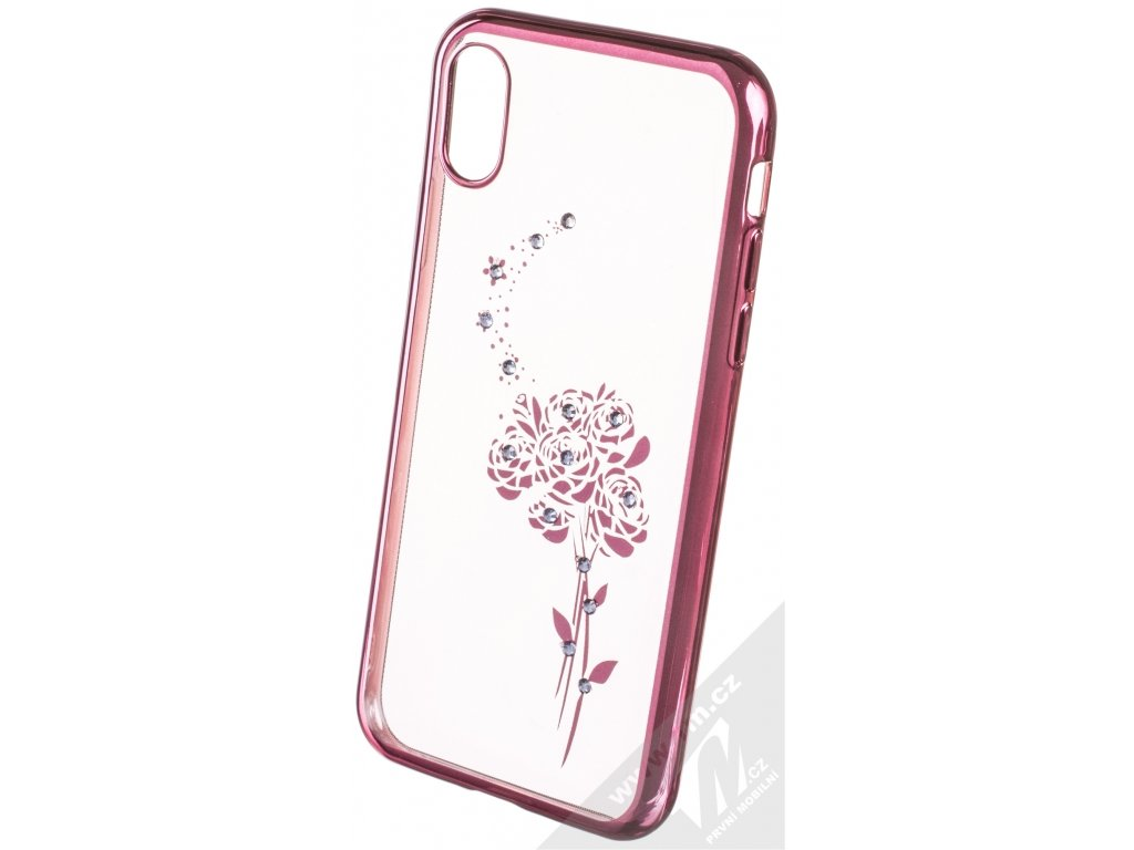 Pouzdro Beeyo Roses pro iPhone X