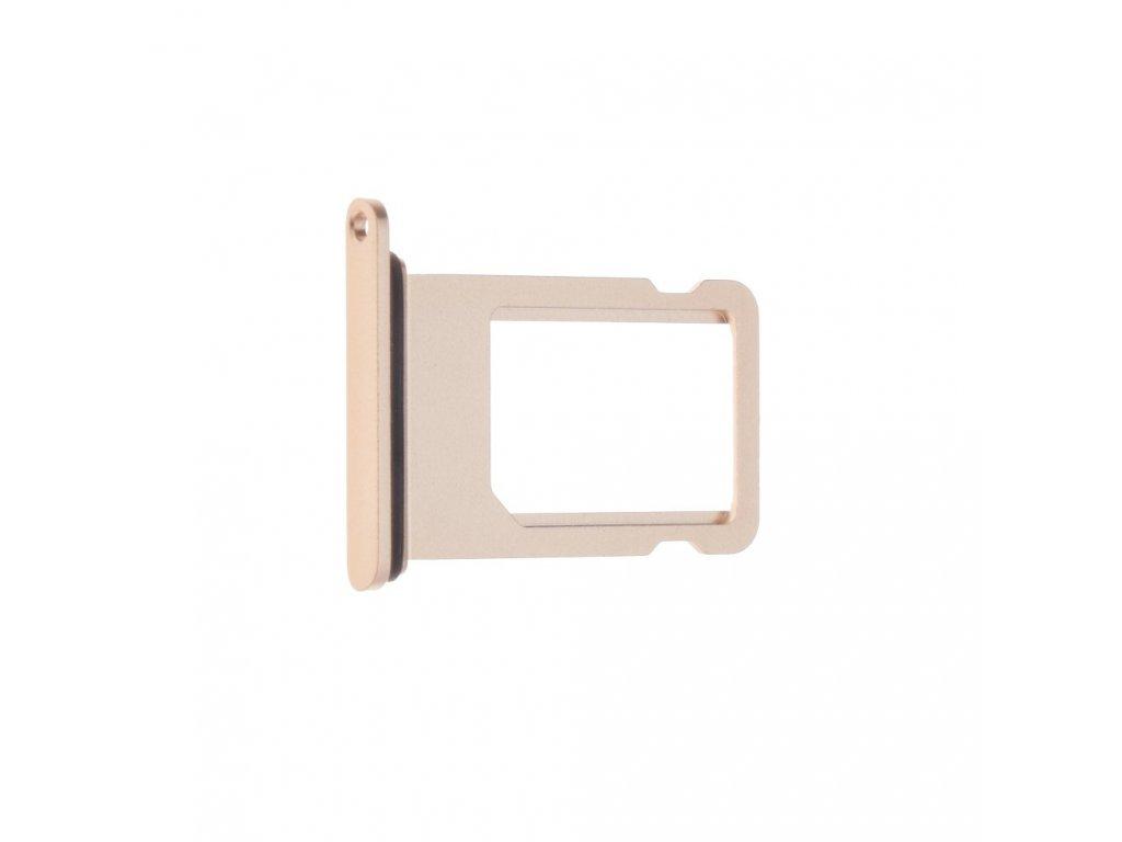 Šuplík na SIM kartu OEM pro iPhone 8 Plus Rose Gold