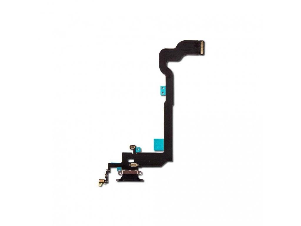 Flex kabel pro iPhone X + konektor nabíjení 1