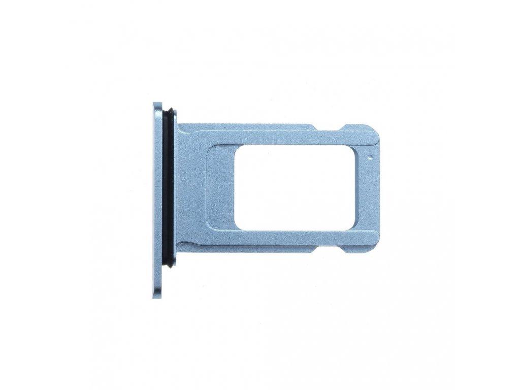 Šuplík na SIM kartu OEM pro iPhone XR modrý