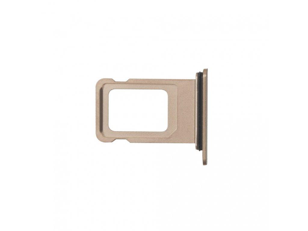 Šuplík na SIM kartu OEM pro iPhone XS Max Rose Gold