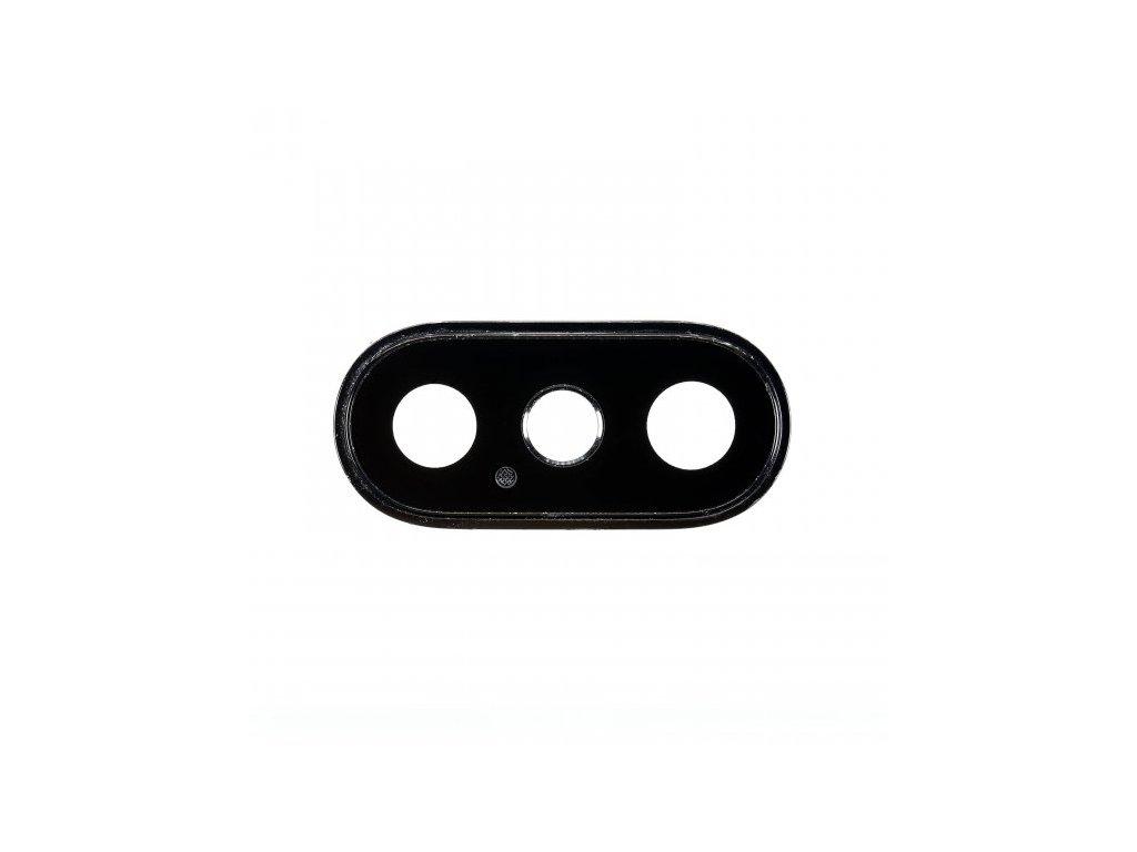 Ochranné tvrzené sklo na zadní fotoaparát pro iPhone XS Max černý rámeček